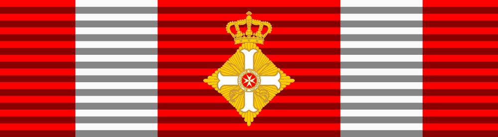 Cross of Grand Officer with swords, Sovereign Military Order of Malta medal