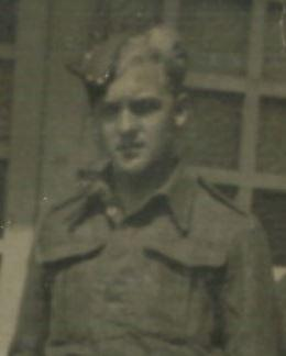 OS Bernard O Brunt in uniform