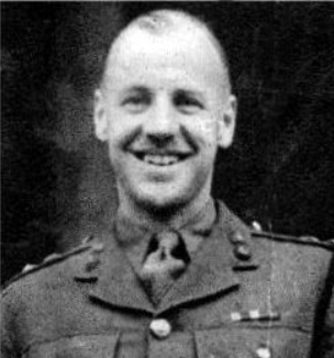OS Lt Col Hope -Thomson on his wedding day 1945