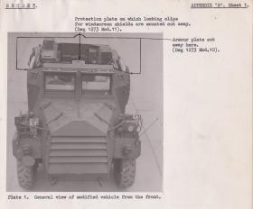 Notes on GMC Armoured Truck. 1945.