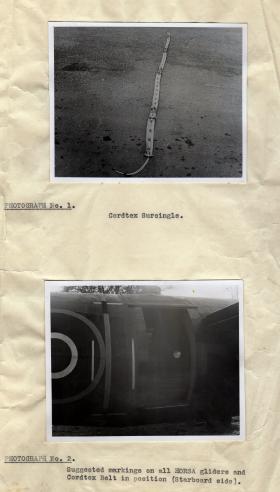 Cordtex Surcingle. Horsa Glider.