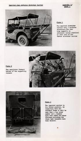 Improved Jeep Airborne Stretcher Carrier