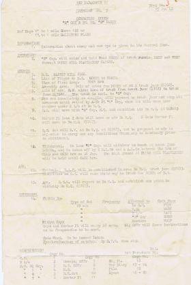 1st Parachute Bn. Exercise no. 5, 1942.