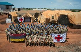 Airborne medics get ready for next challenge