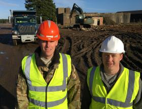 British and American engineers build closer relationship