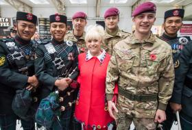 16 Air Assault Brigade supports London Poppy Day