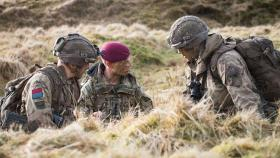 Airborne gunners take first steps up the promotion ladder