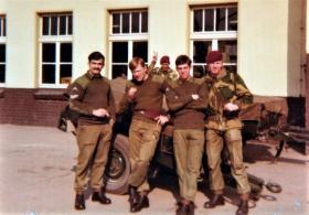 1 Para HQ Coy. Montgomery Barracks, Berlin. 1975.