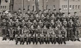 1 Para, D (Ptl) Coy. Palace Barracks, 1970.