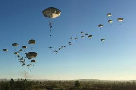 Airborne forces make transatlantic leap to show off joint capability