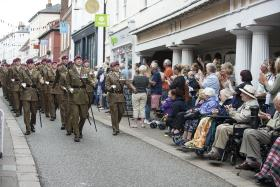 Airborne sappers to celebrate their 15th anniversary in Woodbridge