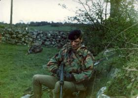 Kevin Hughes. Crossmaglen, South Armagh 1981.
