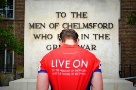 Airborne Medics mark First World War Centenary