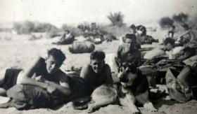 David Hulcoop & pals. 2 Para Canal Zone Egypt, 1953-1954.