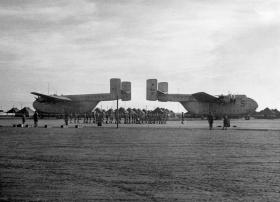 The Beating of Retreat. Muharraq airfield, Bahrain. 11 December 1961.