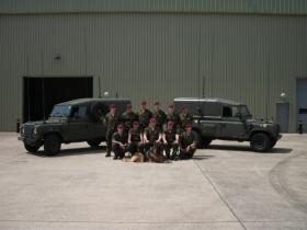 12 (Nova Scotia) HQ & Sp Sqn. CIS Troop, 2011.