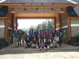 12 (Nova Scotia) HQ & Sp Sqn on adventure training. Kenya, 2007.