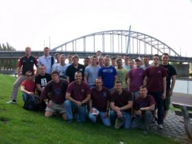12 Nova Scotia HQ & Sp Sqn at Arnhem, 2009.