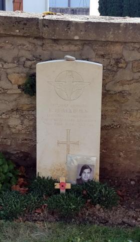 Grave of Pte Edward Blackburn. Taken July 2018.
