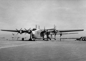 Blackburn B101 Beverley Heavy Transports on Muharraq airfield.