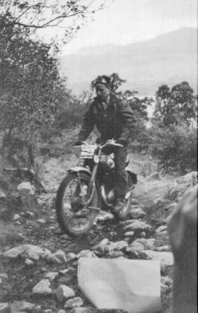 Carrick Watson during the Scottish 6 Day Trials at Fort William.