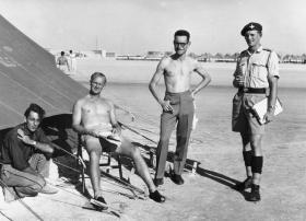 Keith Spacie, Neil Fiddler, Jim McLean, Edward Gardener. Persian Gulf.