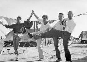 Keith Spacie, Tony Bell, Jim McLean, Ian Colquhoun. Persian Gulf.