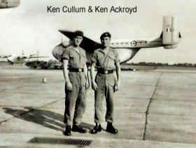 Ken Cullum and Ken Ackroyd. 1955.