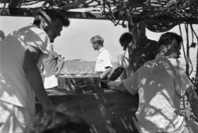 Dhow Fishing Trip. Persian Gulf.