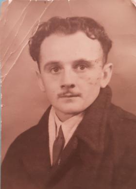 Pte Les Morgan. 1946.