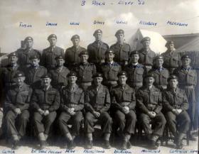Members of 3 PARA. Egypt, 1953.