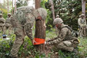 Improvisation is key for airborne sappers