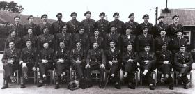 The Officers of 2nd Battalion, The Parachute Regiment. Cottismore, 1944.