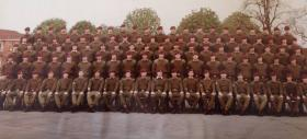 C Coy, 3 Para. Northern Ireland, 1980-81.