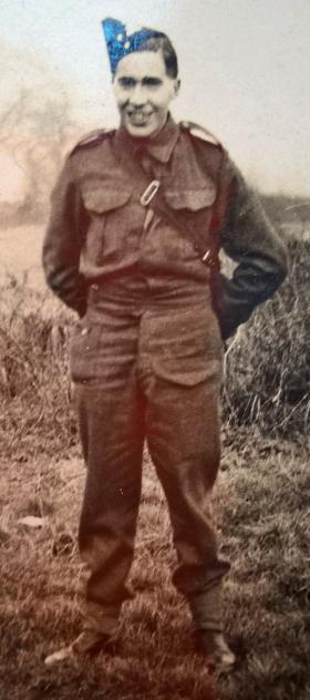 S/Sgt John E P Naden. Date unknown.