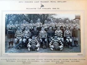 McIlwayne Cup Finalists. 1949-50.