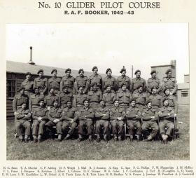 No.10 Glider Pilot Course, RAF Booker, Buckinghamshire, 1942-43.