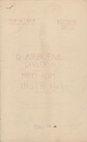 Op Overlord 6th Airborne Medical Operation Instructions