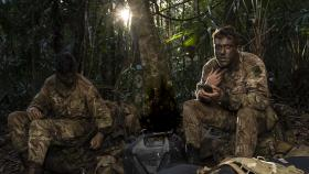 Paratroopers train for jungle warfare
