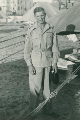Sergeant Philip Ward. Palestine, 1946.