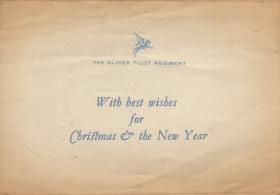 Christmas card to S/Sgt. Hutley's parents. 1944