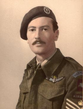 Portrait of S/Sgt. Hutley. Date unknown.