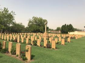 Khartoum War Cemetery, 2019.