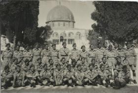 MMG Platoon, 9th Para Bn. Jerusalem, 1945.