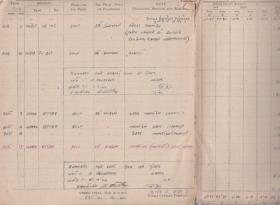 JCM Hutley Flying logbook entry for Op. Market Garden