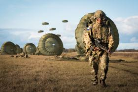 16 Air Assault and Estonian Defence League during  Op. Tractable 2019