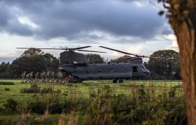 16 Air Assault on Exercise Decisive Manoeuvre November 2019