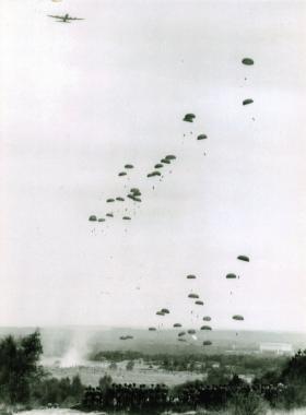Parachuting, Long Valley, 1967.