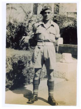 Arthur C Main Palestine 1947