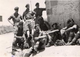 Pte L White and men of 3 PARA in Cyprus 1951